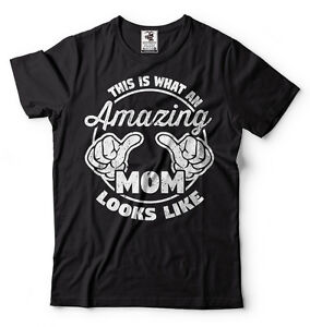Gift-For-Mom-Amazing-Mom-T-shirt-Gift-For-Mother-Mother-039-s-Day-Gift
