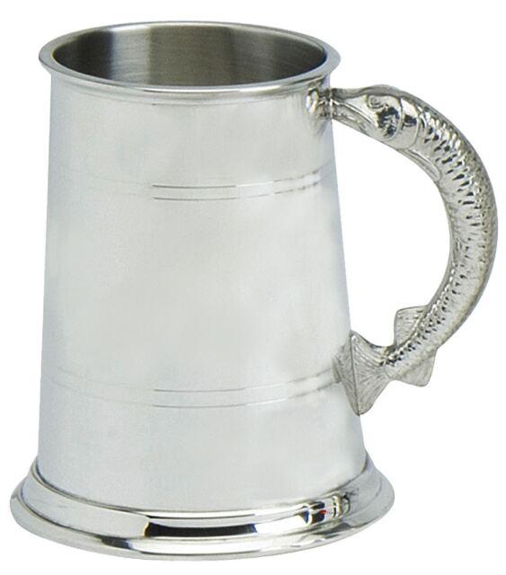Half Pint Standard Double Lined Pewter Tankard Wentworth Pewter Beer Mug