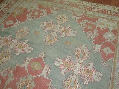 Antique Gorgeous Turkish Oushak Ushak Rug Size 10'3''x15'3''