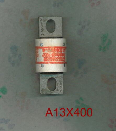 FERRAZ SHAWMUT A13X400 FUSE A13 X 400 AMP 130 VOLT  A13X400-4