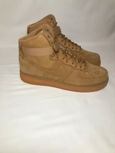 Details about Nike Air Force 1 High '07 LV8 WB Men's Sz 12, W. 13.5, Flax Wheat (882096 200)