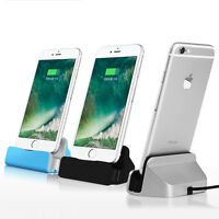 Sync Data USB Cable Charger Dock Station Stand Cradle Charging For iPhone 7 6 6S