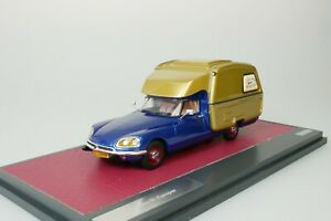 CITROEN ID CAMPER 1973 BLAU - GOLD METALLIC 1/43 MATRIX MX50304-061 NEU 1-408