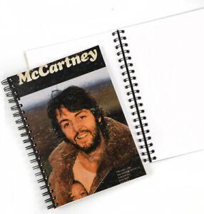 Vintage LP Album Cover Journal, Paul McCartney - McCartney 1970, Blank pages