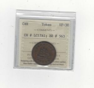 Can-Token-LC-17A1-Breton-563-ICCS-Graded-VF-30-Commerce-Token