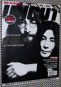 UNCUT-Magazine-JOHN-LENNON-amp-YOKO-ONO-PAUL-WELLER-REM-DeNIRO