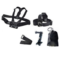 5in1 Chest Head Mount Adjustment Base Accessories For Gopro Hero 2 3 4 5 Camera