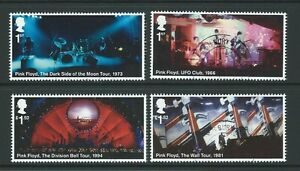 GREAT-BRITAIN-2016-MUSIC-GIANTS-PINK-FLOYD-SET-4-EX-MINIATURE-SHEET-FINE-USED