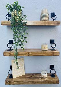 Rustic-Floating-Shelves-Wooden-Shelf-Chunky-Handmade-Bespoke-Wood-with-brackets