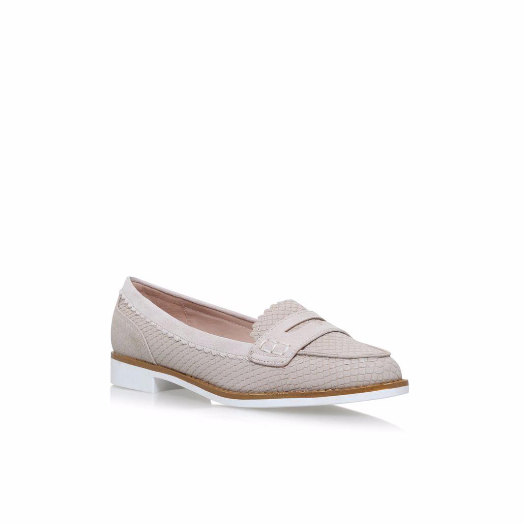 Miss KG Natural Noah Flat Slip On Loafers UK 7 EU 41 LN17 98 SALEs