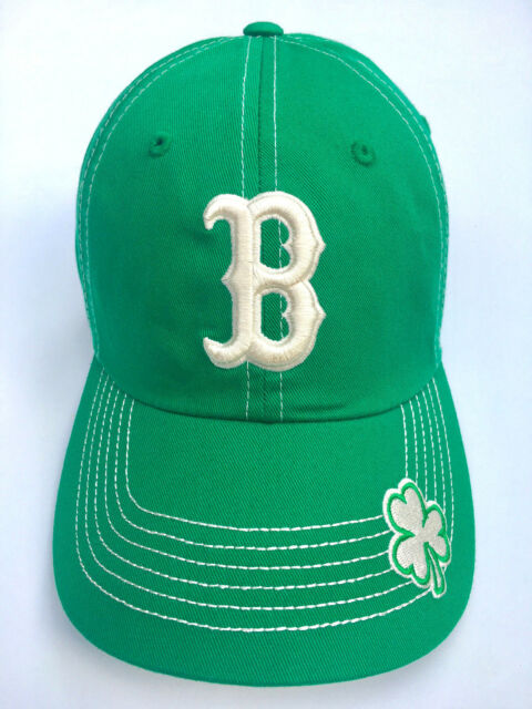 finest selection d521a c862c BOSTON RED SOX OFFICIALLY LICENSED ST PATRICKS DAY KELLY GREEN SHAMROCK HAT  CAP