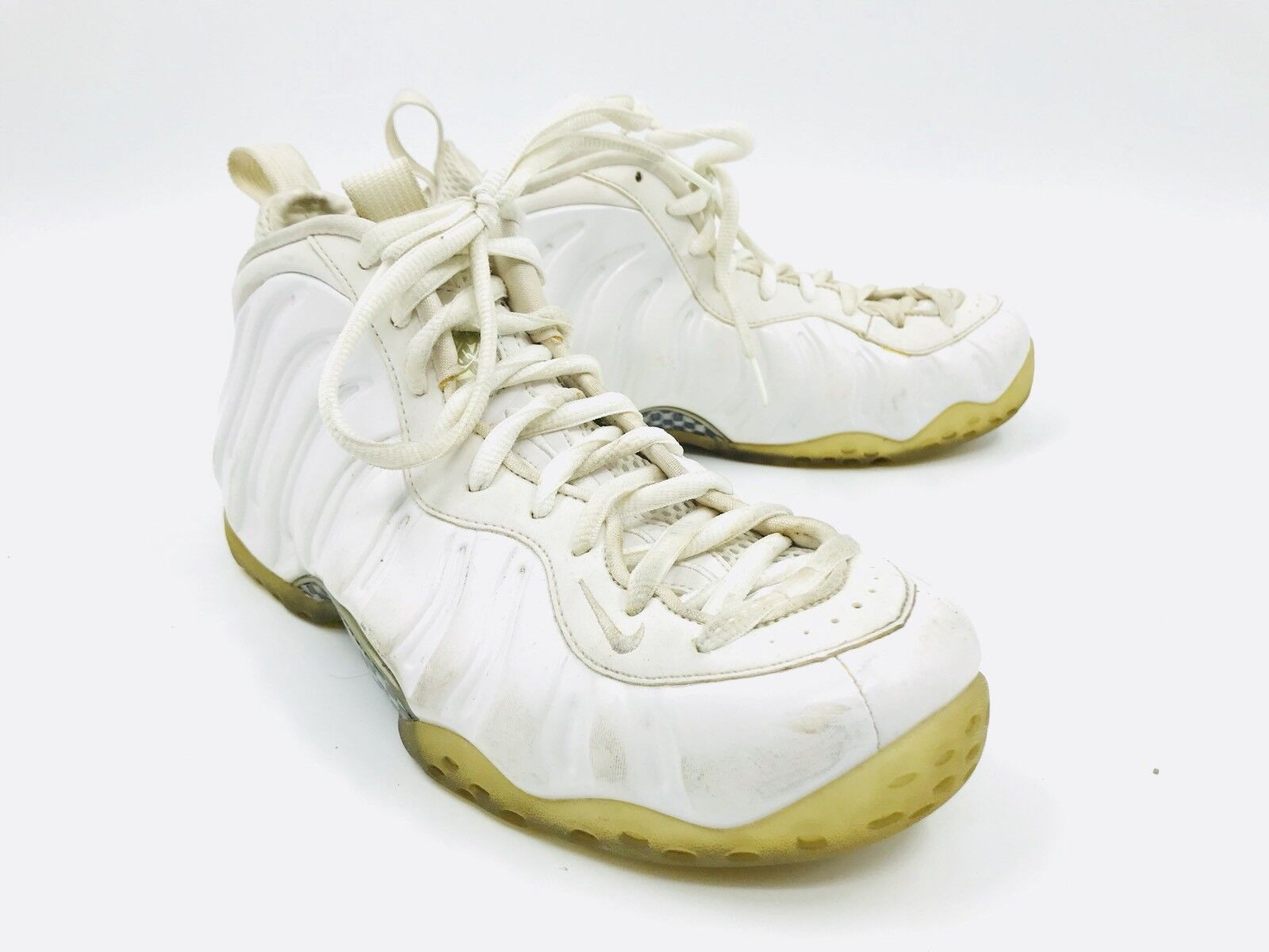 Nike Air Foamposite One Sport Whiteout 314996-100 Mens Size 9