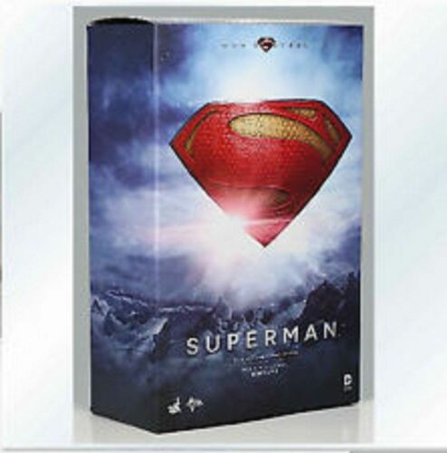 """HOT TOYS MMS200 SUPERMAN MAN OF STEEL 12/"""" 1//6 SCALE FIGURE HENRY CAVILL NEW"""