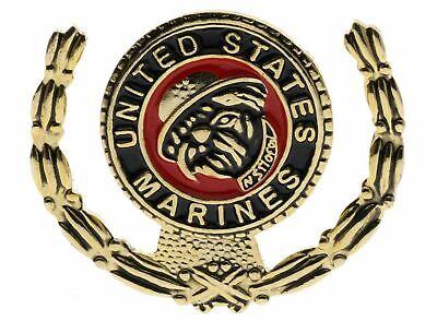 "BRAND NEW Lapel Pin USMC United States Marine Corps BULLDOG W// Cap 1 1//8/"""