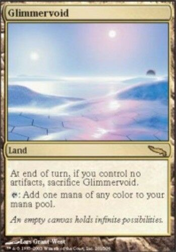 English Mirrodin MTG Magic 1x Glimmervoid Light Play