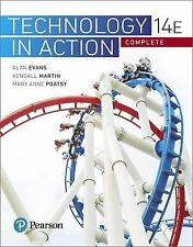Evans, Martin and Poatsy, Technology in Action: Technology in Action by Alan Evans, Kendall Martin and Mary Anne Poatsy (2017, Paperback)