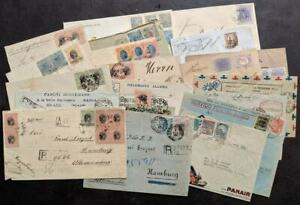 EDW1949SELL-BRAZIL-Fantastic-collection-of-19-covers-JUST-AS-RECEIVED-Great