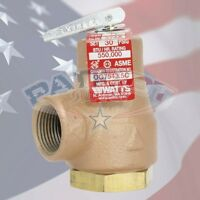 Watts 374a 3/4 Boiler Pressure Relief Valve 3/4 30 Psi 0358553