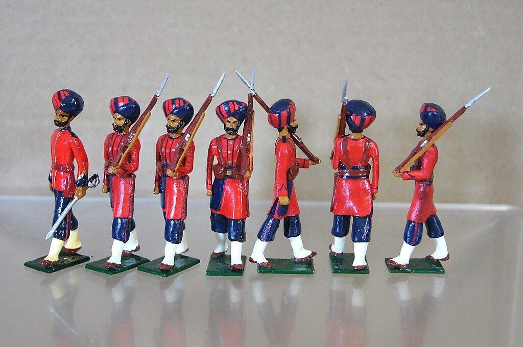 Kopie Modelle Patrick Campbell Britisch in Indien 48th Pioniere Marsch Mv