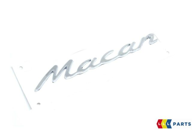 Car Exterior Badges & Emblems NEW GENUINE PORSCHE MACAN REAR TRUNK ...
