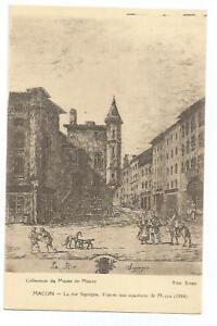 71-MACON-LA-RUE-SIGORGNE-EAUX-FORTE-DE-MAZAS-DE-1884