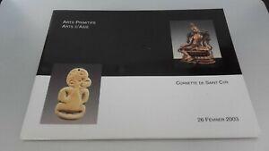 Catalogo-De-Venta-Cornette-Saint-Cyr-Artes-las-Cavernas-D-Asia-Febrero-2003-Be