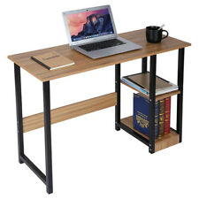 Computer Desk Pc Laptop 3 Tiers Table Workstation Wood Home Office Furniture
