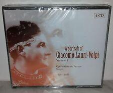 4 CD LAURI - VOLPI - A PORTRAIT OF VOL.1 - NUOVO NEW