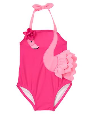 Gymboree Girls Big Knit Bikini
