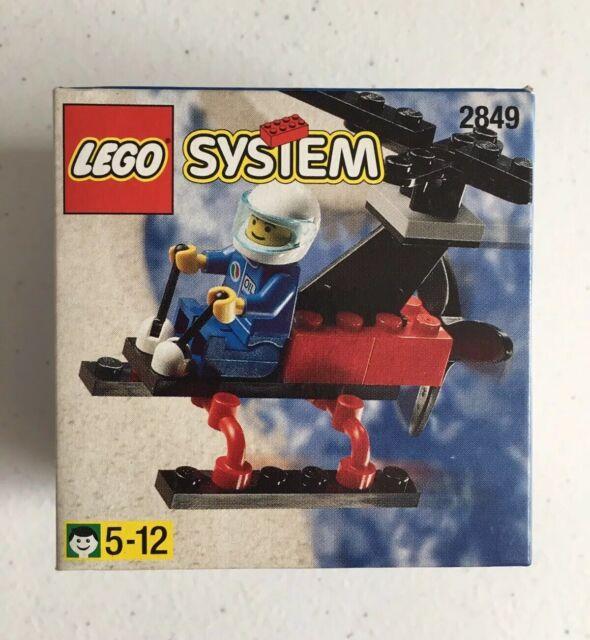 LEGO Vintage System 2849 Helicopter Pilot New MISB Sealed 1998 Gyrocopter