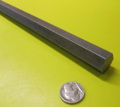 4140//4142 Carbon Steel Hex Rod 10 mm Hex  x 6 Foot Length