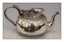 616gm 1893 Victorian Sterling Silver Agricultural Trophy Teapot. Edenbridge Kent