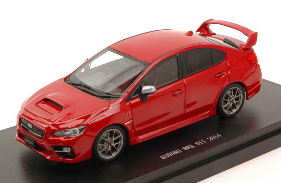 Subaru Wrx Sti 2014 rouge 1 43 Model 45313 EBBRO