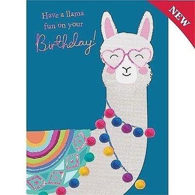 Llama Birthday PUNNY