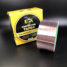 Copper Foil Tape With Conductive Adhesive For Guitar Amp Emi Shielding 2 X 33
