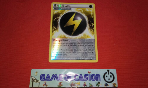 ENERGIE SPECIALE FLASH 83//98 HOLO REVERSE CARTE POKEMON VF RARE