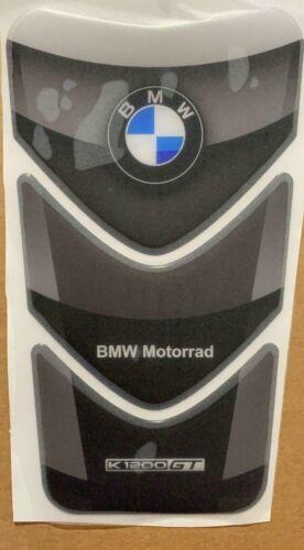 Motorcycle Tank Pad Protector Sticker MOTORRAD K1200GT DARK BLACK BMW