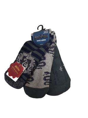 Harry Potter 1 Pair Knee high Socks Women/'s Slytherin Size UK 4-8 Primark