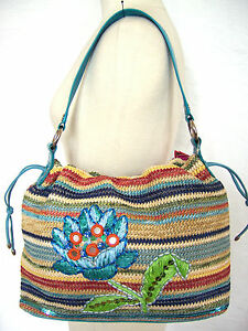Oilily-Damen-Tasche-NEU-Strandtasche-Schultertasche-Beuteltasche-bag