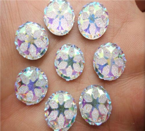 wedding Craft NEW DIY 100PCS Resin Snowflake Flatback Scrapbooking for phone