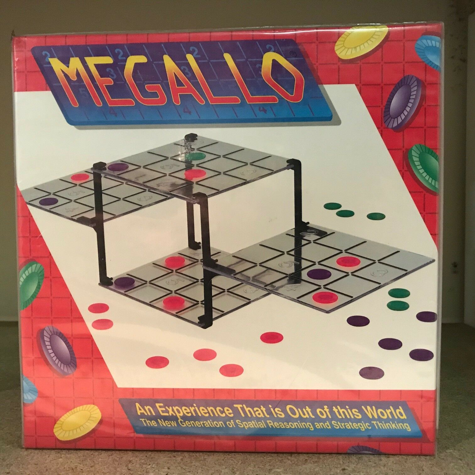 Megallo Board Game - Be the Best Spatial Reasoner & Strategic Thinker to Win