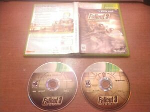 Microsoft-Xbox-360-Disc-Case-No-Manual-Fallout-3-Game-of-the-Year-Edition-PH
