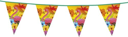 Niños-fiesta de cumpleaños firmemente decorativas celebración fete lema hibisco Flamingo