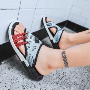 Women-Men-Flat-Sandals-Flip-Flops-Unisex-Summer-Beach-Sliders-Open-Toe-Shoes-New