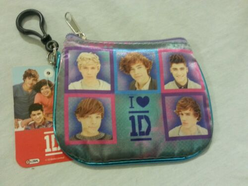 One Direction Coin Purse Id Holder 1D Multi