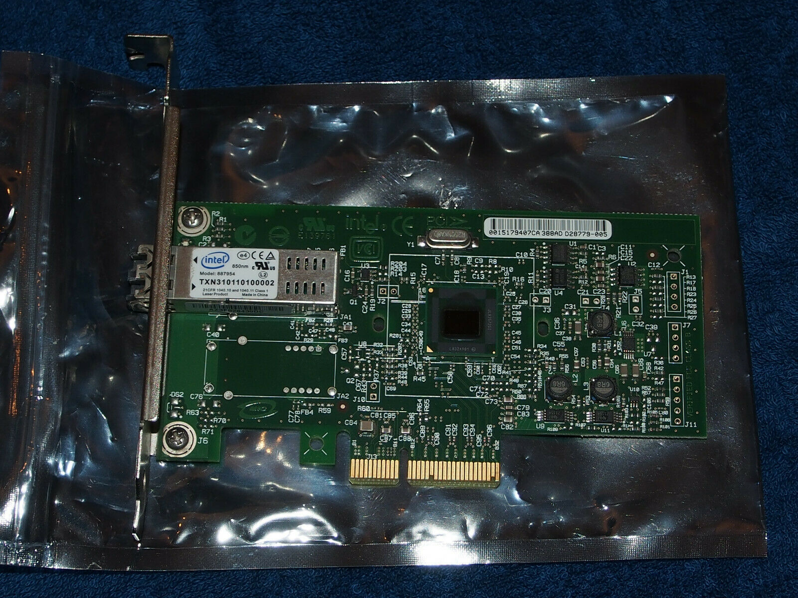 Intel ® PRO/1000 MF Server Adapter, Type C60719 for Fibre Channel