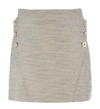 df42aee6d item 3 TED BAKER Mini Skirt Beige Silver Metallic Side Button ~ Sz 3 = US 8  ~ NWT -TED BAKER Mini Skirt Beige Silver Metallic Side Button ~ Sz 3 = US 8  ~ ...