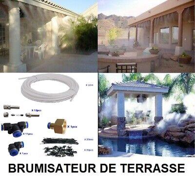 Brumisateur Rafraichisseur 5 Kit Brumisation Terrasse Patio Exterieur