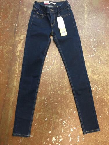 Jeans Femmes Mid Waist LEVI/'S Super Skinny 710 Rinsed Wash 17780-0014