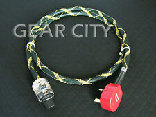 cpgmk 1.5m 5ft 12mm UK Mains Power OFC Cable Shield Cord MK IEC Plug Amp HiFi